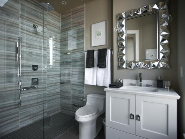Guest bathroom pictures from hgtv urban oasis 2014 hgtv - Pictures of modern bathrooms ...