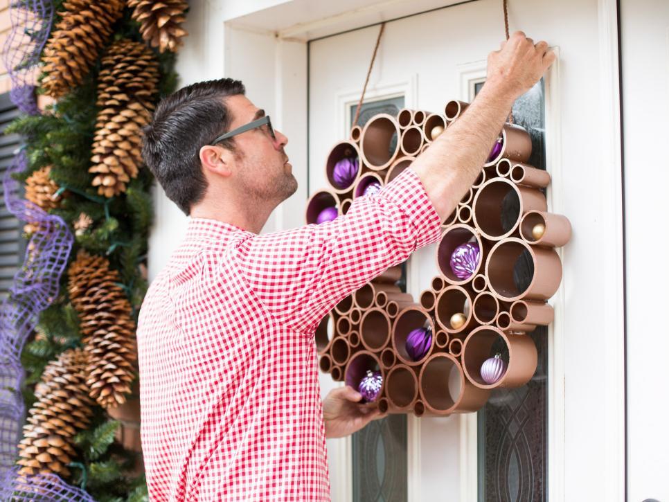 How To Make A Pvc Pipe Wreath Hgtv