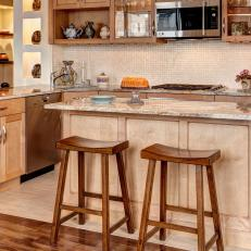 Stylish Beige Kitchen