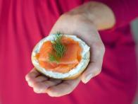 Brunch Recipe: Mini Bagels With Lox