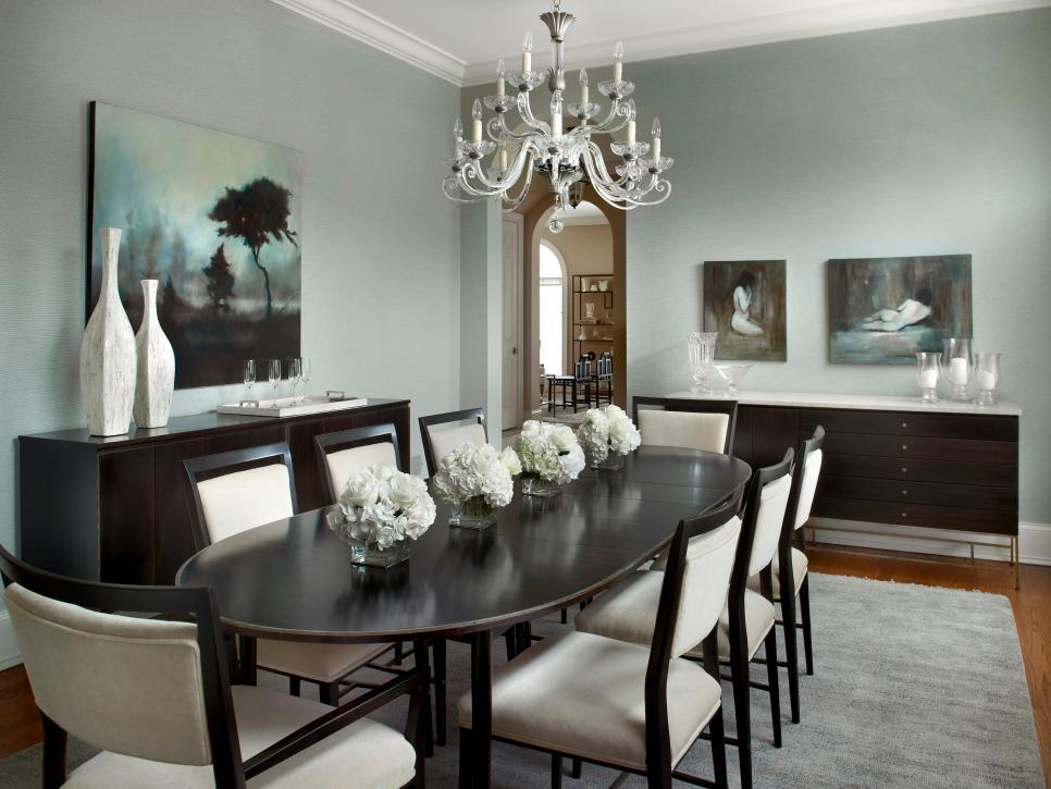 Dining room lighting designs hgtv for House beautiful dining room ideas