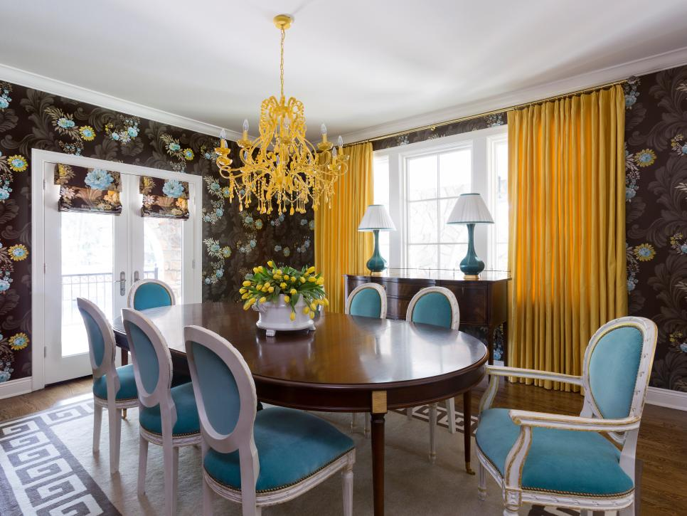 Select the perfect dining room chandelier hgtv How to decorate a house with two living rooms