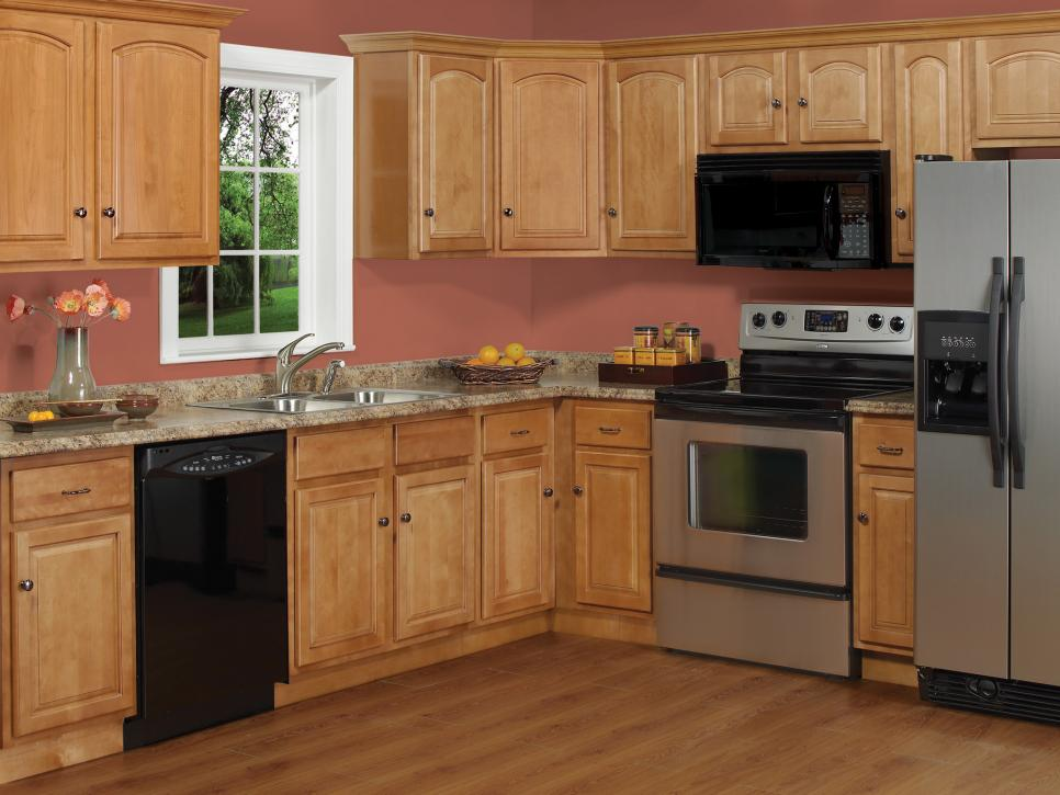 Kitchen Makeover DIY - Bargain outlet kitchen cabinets