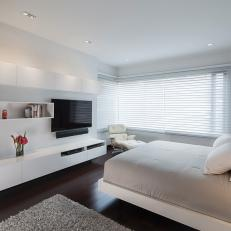 Modern Bedroom in Soft Neutrals