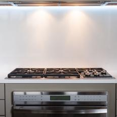Custom Cabinets With Stove Create Modern Loft Cooktop