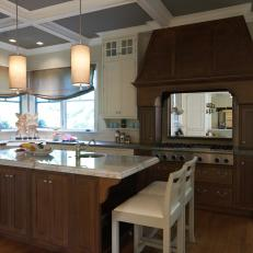 Hand-Crafted Look in Traditional Kitchen