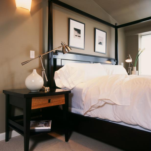 Neutral Transitional Bedroom