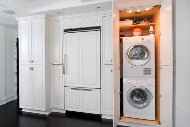 Apartment Sized Washer And Dryers Hgtv S Decorating