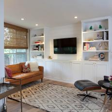 Eclectic Living Room Blends Vintage and New
