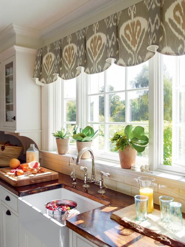 Curtains Kitchen Windows Unique Design Ideas