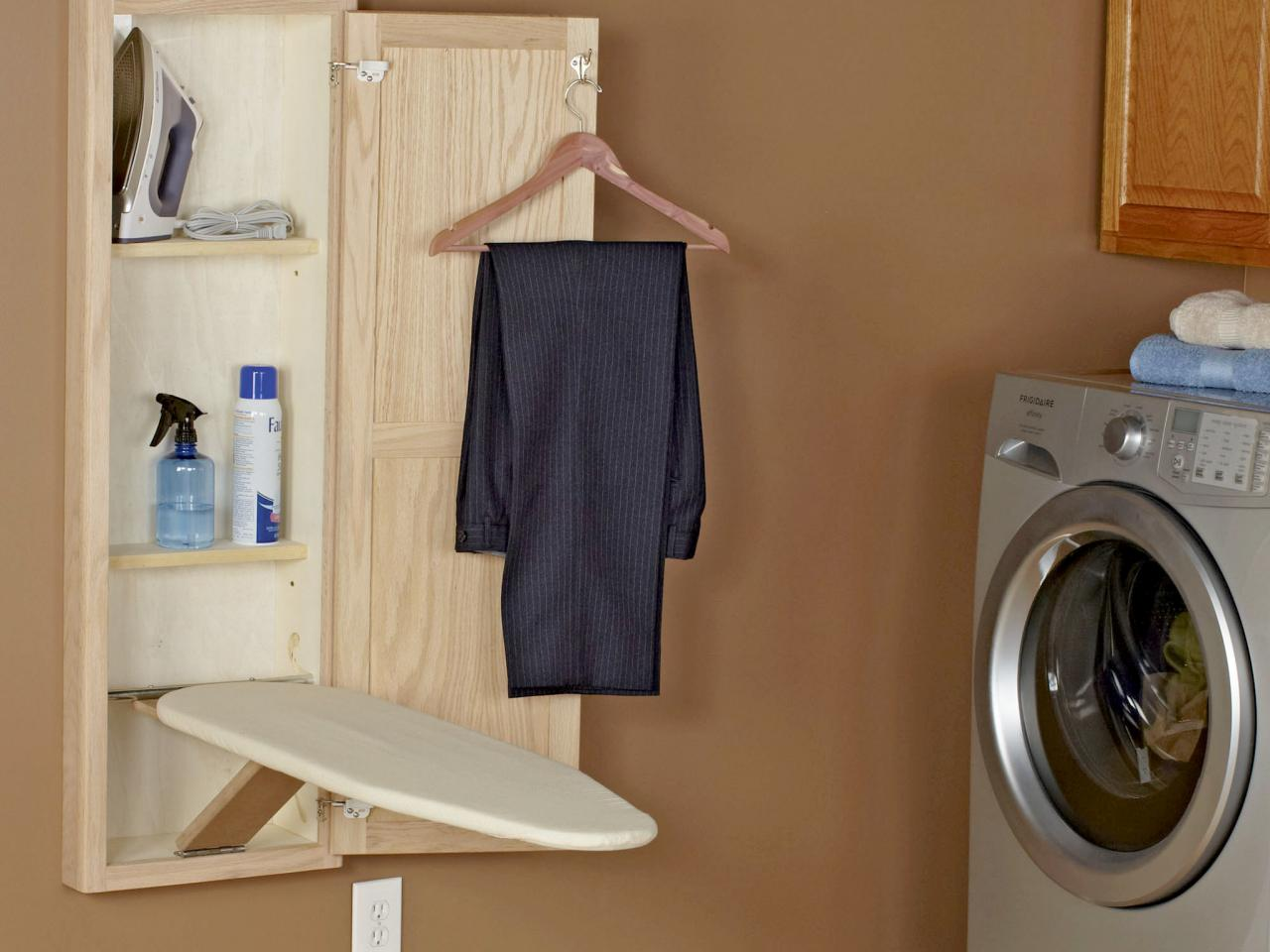 how to put up an ironing board