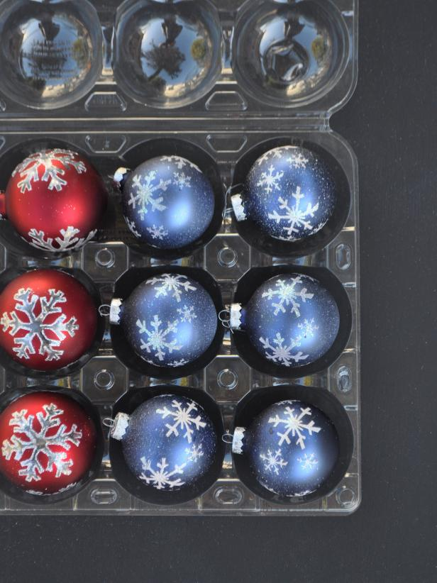 photo by laura russell - Christmas Decoration Storage Containers