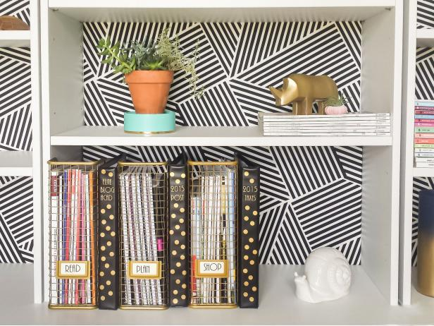 Magazine Files for Home Office Organization