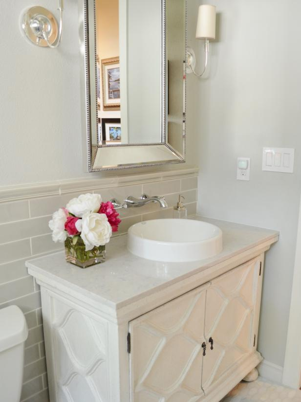 BeforeandAfter Bathroom Remodels On A Budget HGTV Stunning Quick Bathroom Remodel