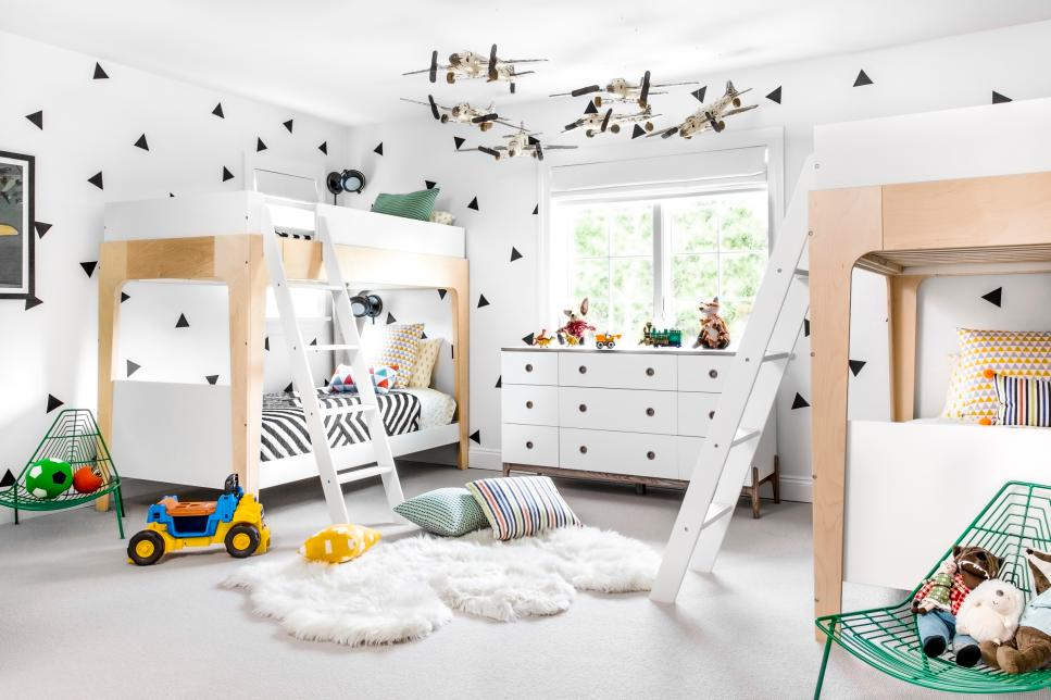 40 Designer Kids Spaces Playrooms Bedrooms Nurseries And More HGTV Enchanting Bedroom And More