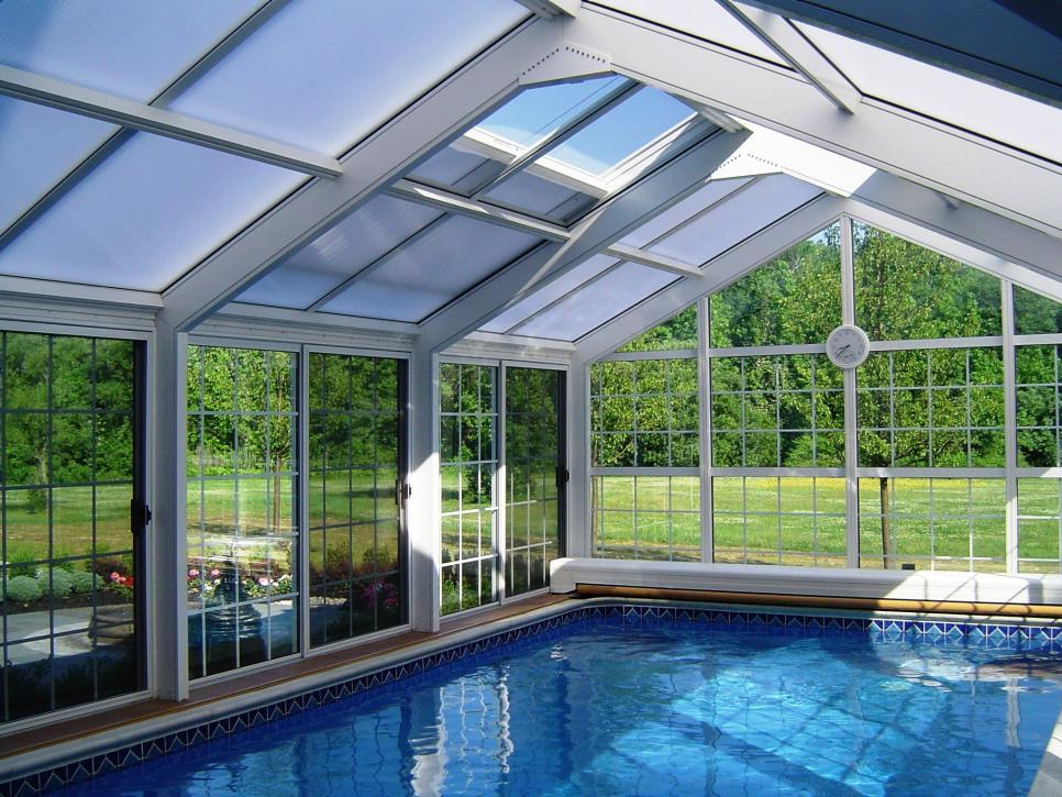 Inspiring Examples of Solariums, Sun rooms and Indoor Swimming Pools ...