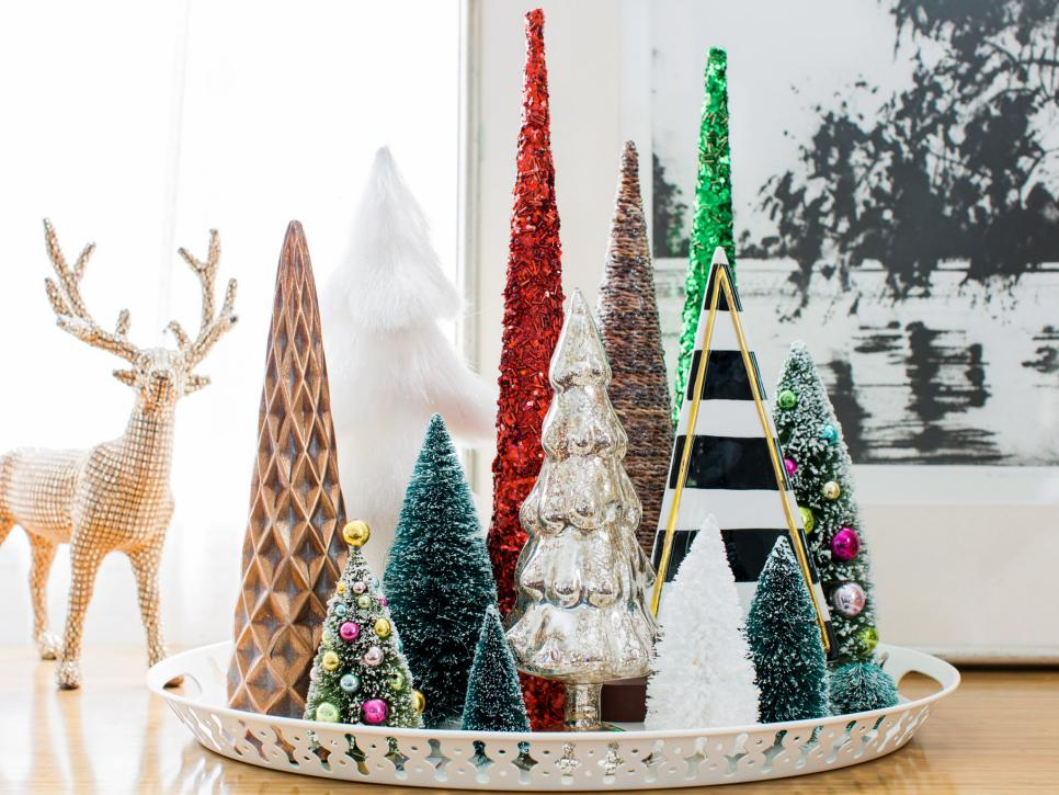 how to decorate for the holidays in a small space hgtv