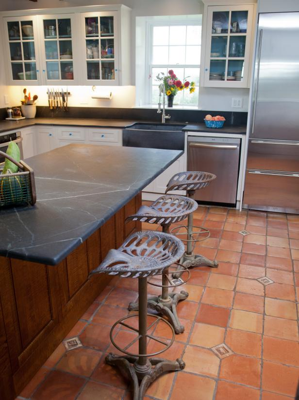 French Country Kitchen Tile Flooring french country kitchen cabinets: pictures, options, tips & ideas | hgtv