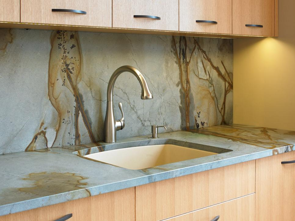Shop This Look & Backsplash Ideas for Granite Countertops + HGTV Pictures | HGTV