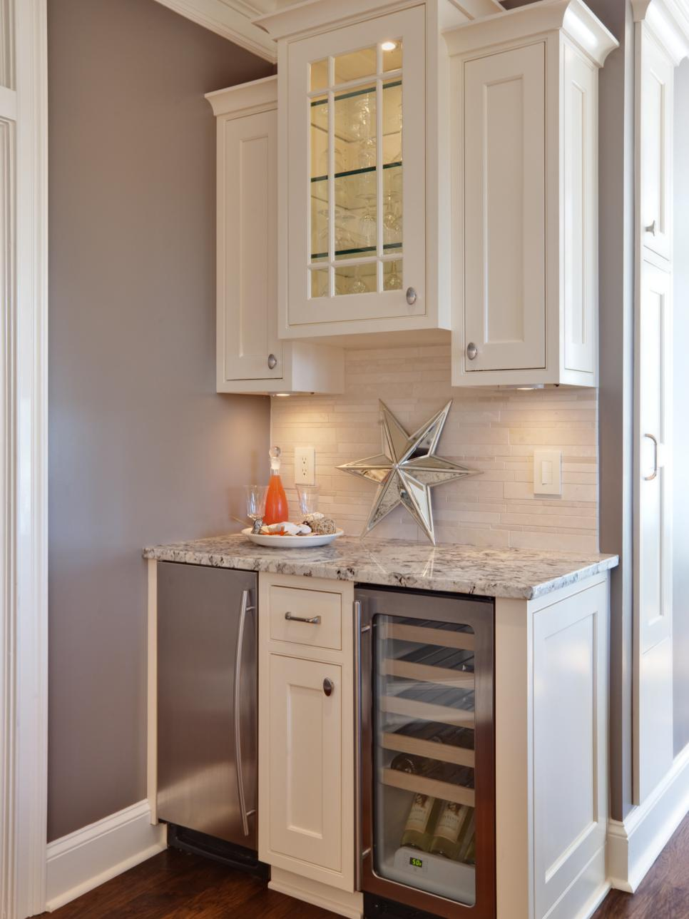 kitchen design with bar area 15 stylish small home bar ideas hgtv 875