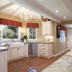 French Country Kitchen Tile Flooring photos | hgtv