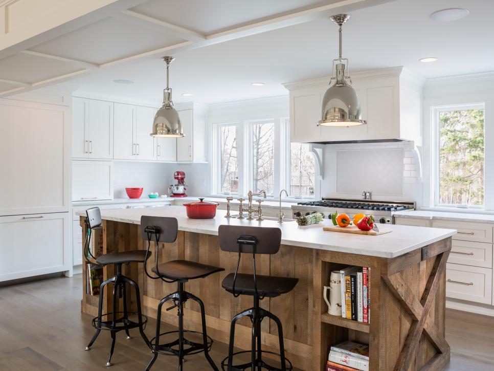 14 Creative Kitchen Islands And Carts Hgtv