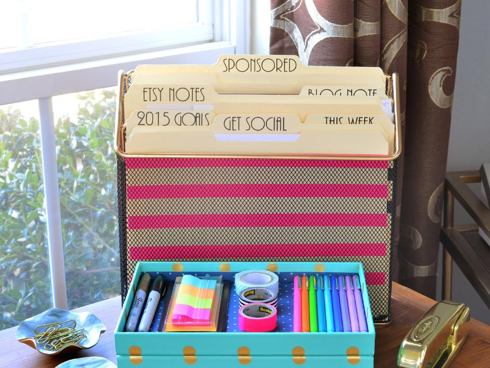 12 Things Every Organized Home Office Needs