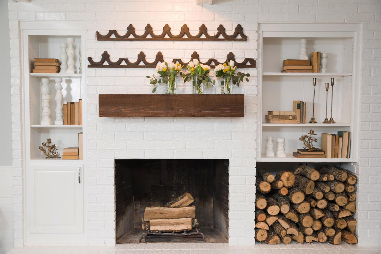 Pretty Firewood Storage Ideas | DIY Network Blog: Made + Remade | DIY
