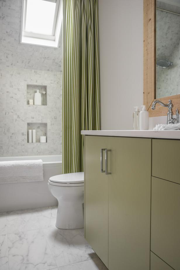 Modern Gender Neutral Bathroom Hgtv