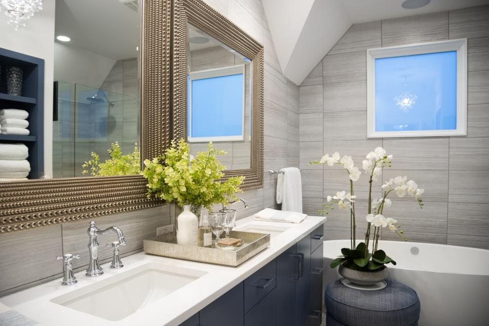 Home Design Ideas Pictures: Pictures Of The HGTV Smart Home 2015 Master Bathroom
