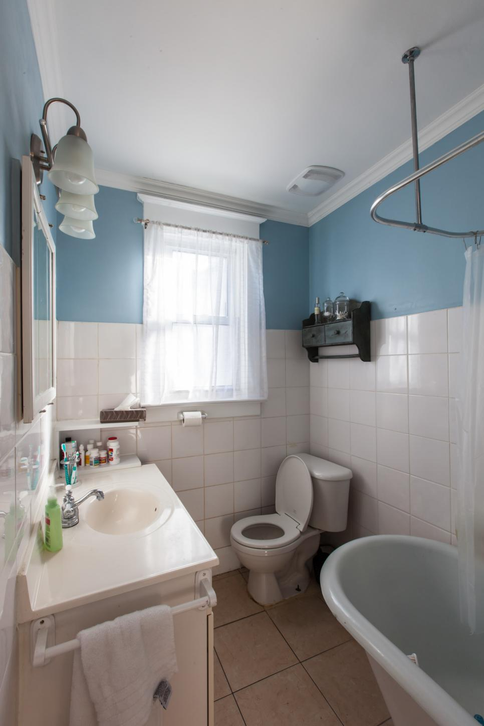 small bathrooms makeover 20 small bathroom before and afters hgtv 14502