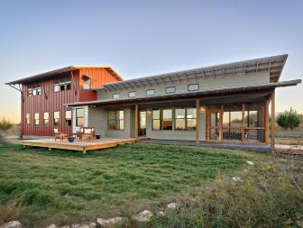Rustic Home With Energy-Efficient Design
