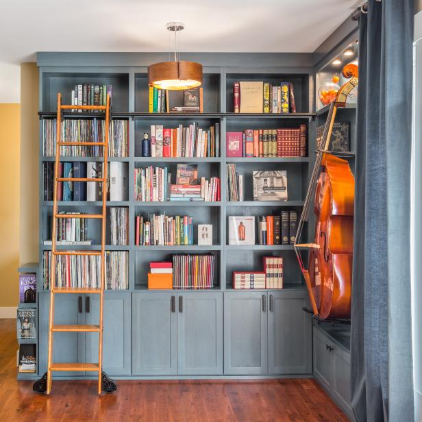 Home Library Hits the Right Note