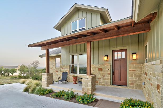 Sage Green Craftsman Farmhouse