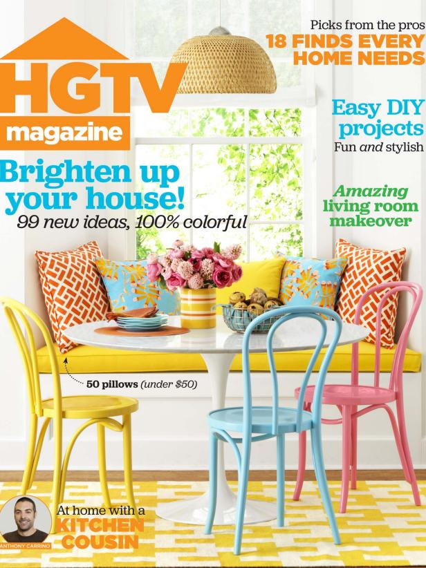 HGTV Magazine April 2015 cover