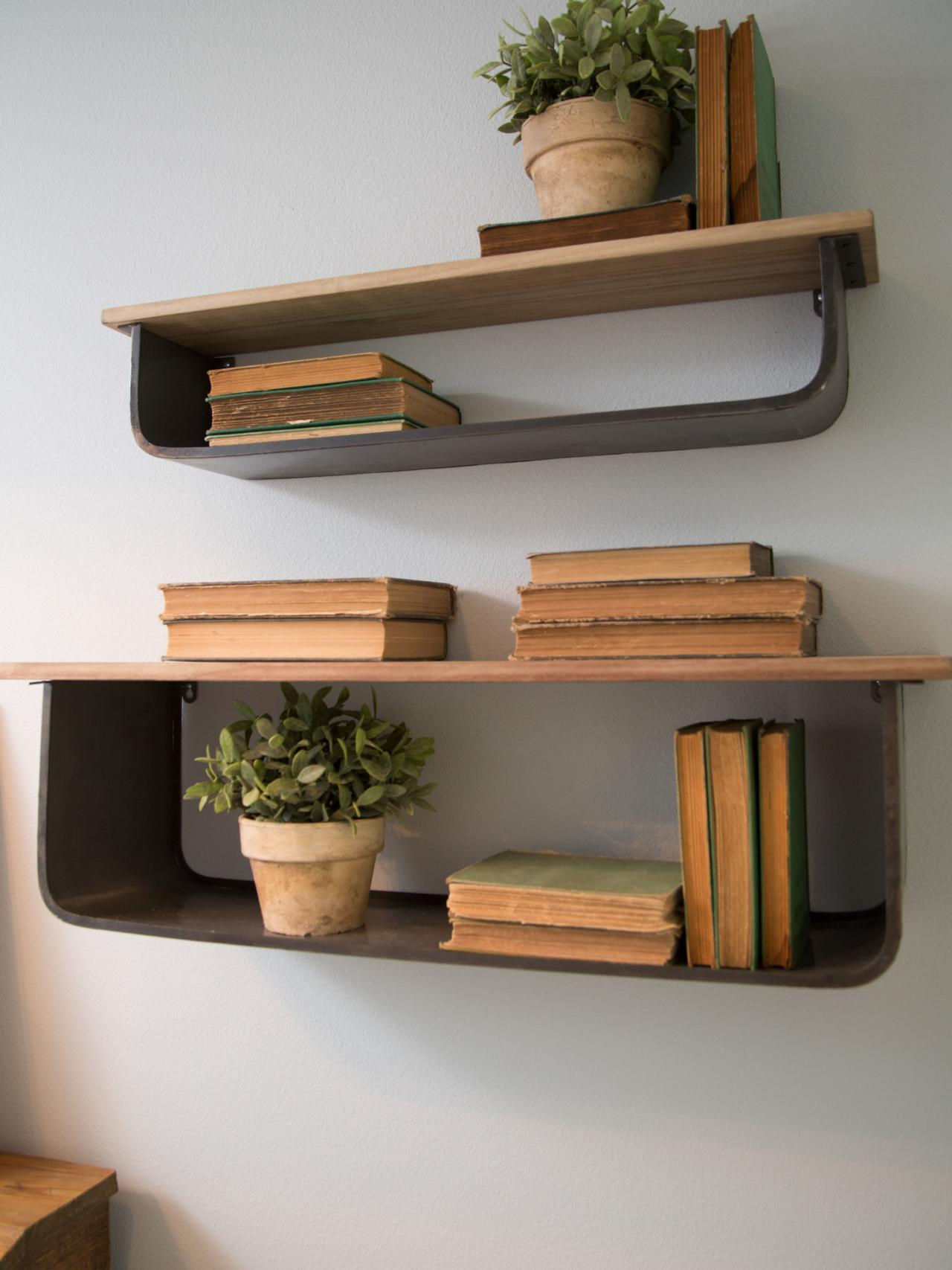 office wall shelving copy these fixer flea market finds hgtv s 23975