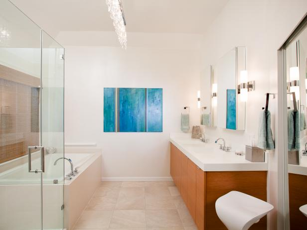 Modern Bathroom Design Ideas With Pictures Hgtv