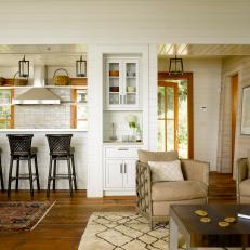 Bright & Airy Cottage Living Space
