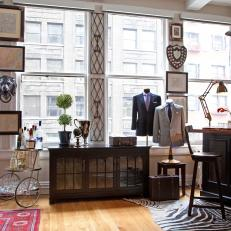 Masculine Tailor Shop With Vintage Vibe