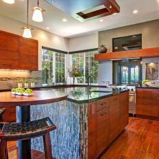 Asian cabinet kitchen