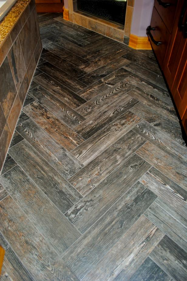 Herringbone Wood Tile Floor Revolutionhr