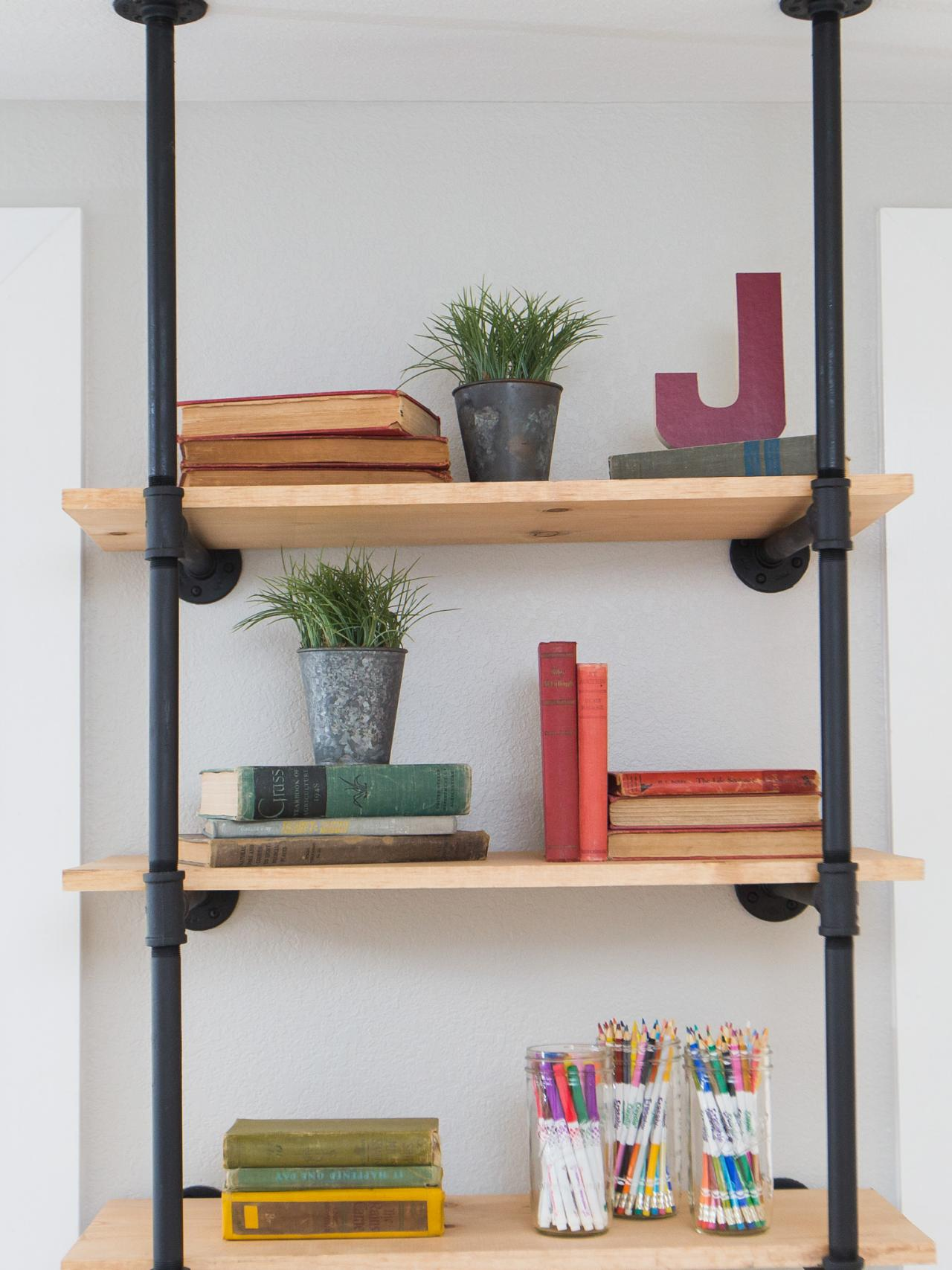 Make Your Bookshelves Shelfie Worthy With Inspiration From Fixer Upper