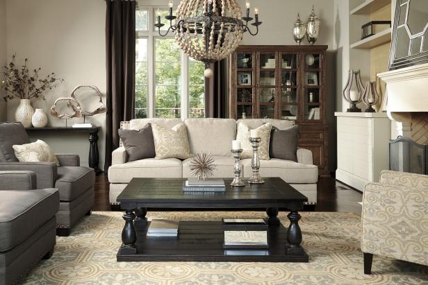 Cloverfield Living Room   HGTV