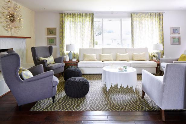 Bright, Eclectic Living Room From Sarah Sees Potential