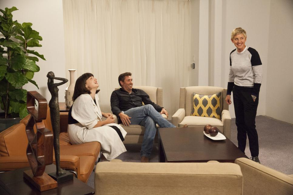 Behind The Scenes Episode 6 Of Ellen S Design Challenge Ellen S Design Challenge Hgtv
