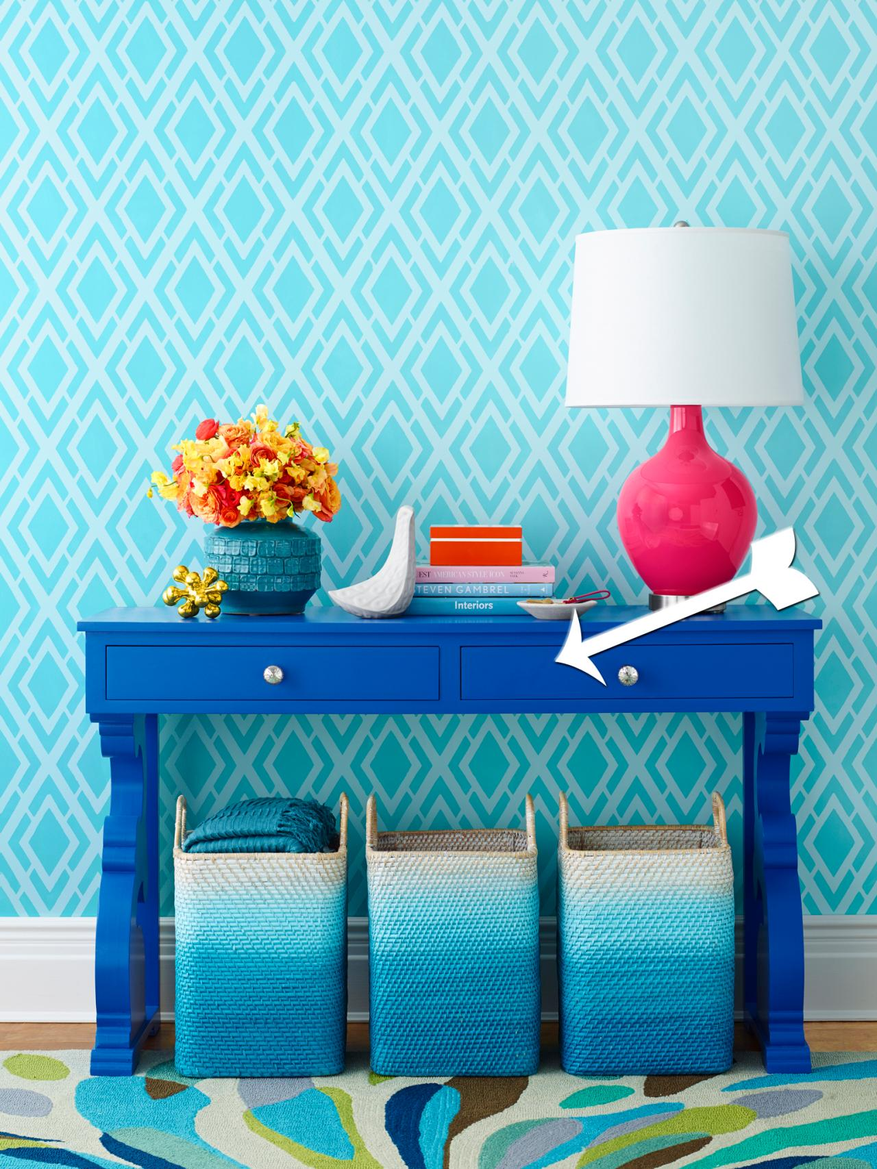 Marvelous How To Paint A Console Table