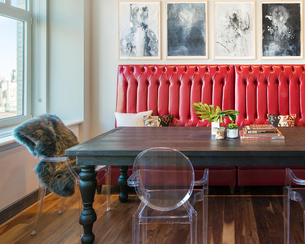 12 Ways To Make A Banquette Work In Your Kitchen Hgtv S