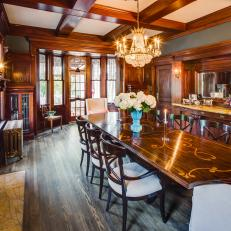 Rehab Addict: Dining Room Restored to it's Original Beauty