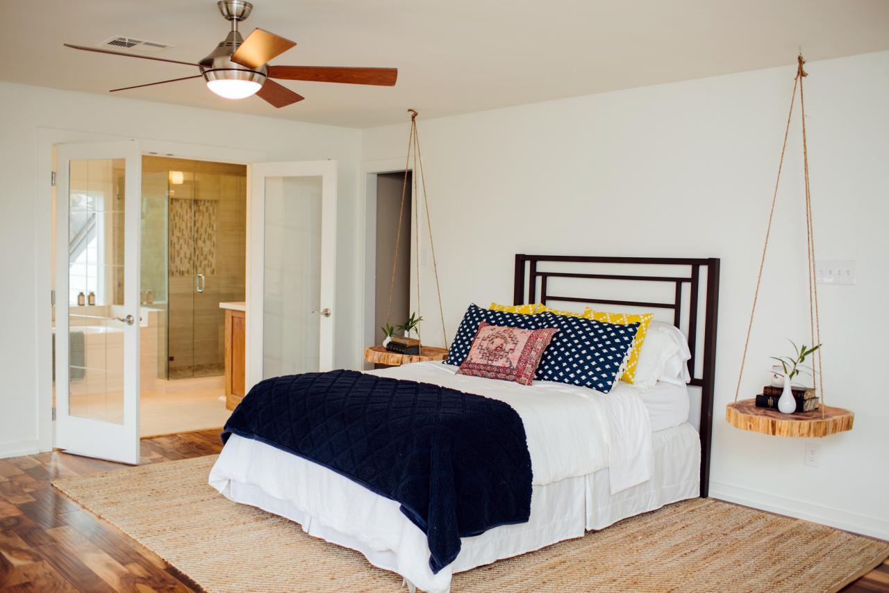 9 design tricks we learned from joanna gaines hgtv 39 s for Joanna gaines bedroom ideas