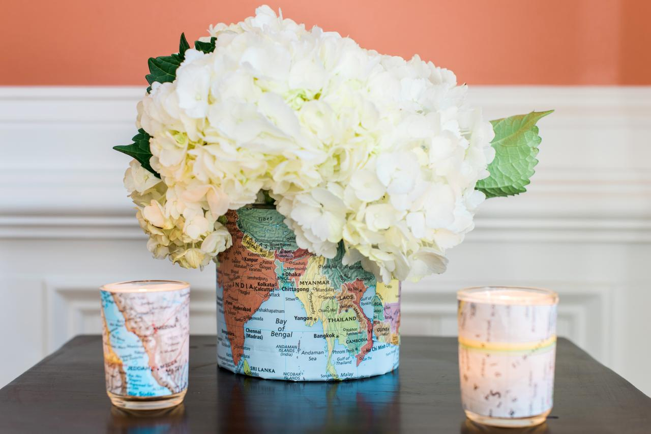 How to make a map embellished vase 10 tips for easy entertaining finishing touches reviewsmspy